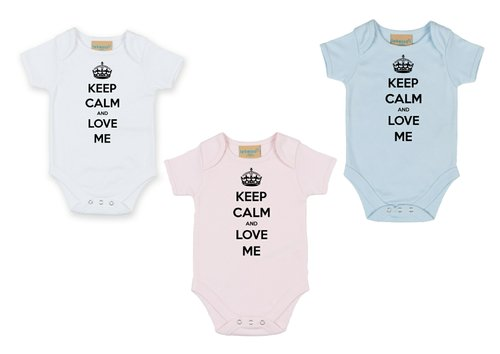 Personalised ...And Love Me Babygrow