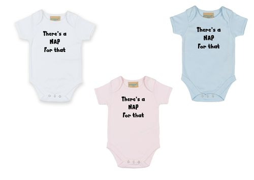 Personalised There's a Nap Babygrow