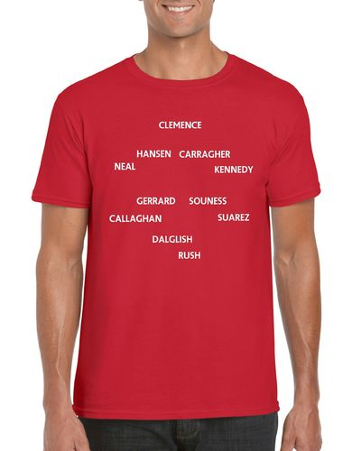 All Time X1 Liverpool T-Shirt