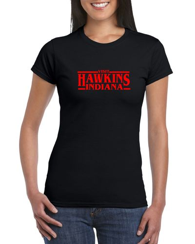 Visit Hawkins Ladies T-shirt