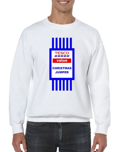 Tesco Value Christmas Jumper/Sweatshirt