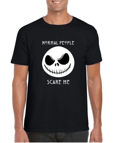 Jack Skellington Normal People Scare Me T-shirt