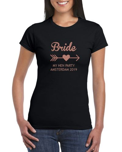 Bride Tribe Ladies Hen Night T-shirts