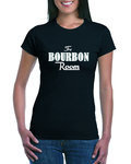 The Bourbon Room Rock Of Ages Ladies T-shirt