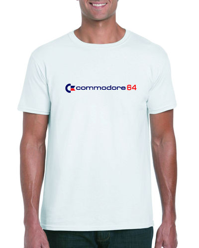 Commodore 64 Blue Design T-shirt