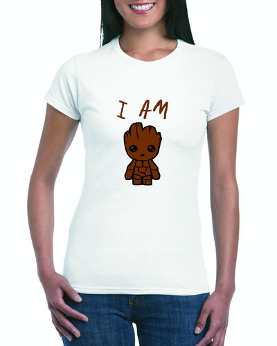 I Am Groot Ladies T-shirt