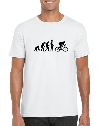 Evolution of A Cyclist  T-shirt